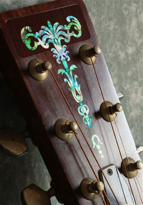 Inlay Stiker Headstock Gitar Torch Abalone Blue torch inlay stickers decals headstock peghead
