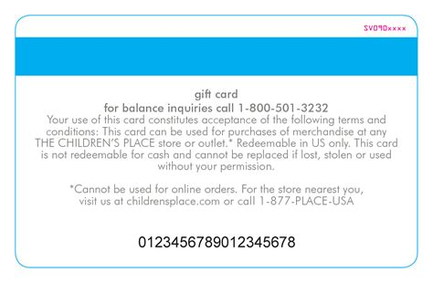 Childrens Place Gift Card Balance - gift cards online gift cards the children s place