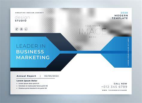 Stylish Blue Business Flyer Design Presentation Template Download Free Vector Art Stock Presentation Flyer Template