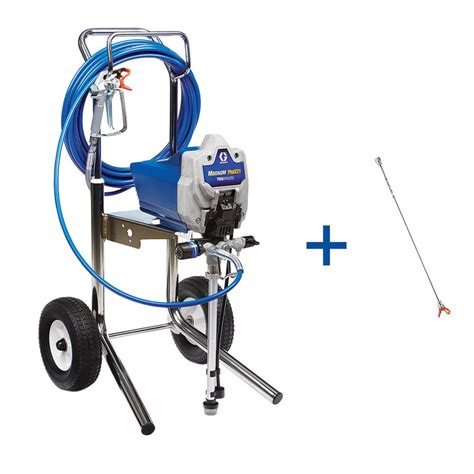 home depot paint sprayer hose graco truecoat plus ii airless paint sprayer 16n659 the