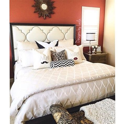 black and white bedroom with a pop of color master bedroom inspiration we love the black and white