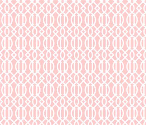 flower pattern eshop light pink trellis fabric sweetzoeshop spoonflower