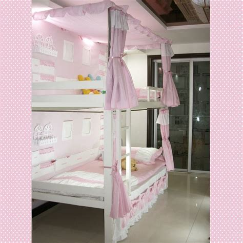 bunk bed curtain 17 best ideas about bunk bed canopies on pinterest pink