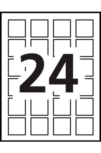 avery 174 print to the edge square labels 22805 template