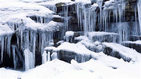 frozen waterfall wallpaper wonderful frozen waterfall hd winter wallpaper