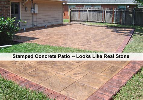 How To Install A Concrete Patio by Concrete Patios And Concrete Decks Concrete Construction