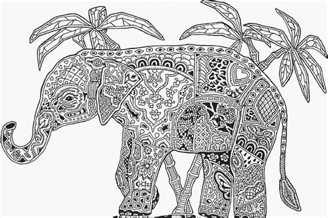 elephant coloring pages pdf elephant coloring page for adults elephant coloring pages