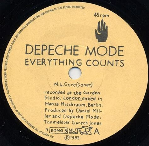 everything counts depeche mode quot everything counts quot 1983