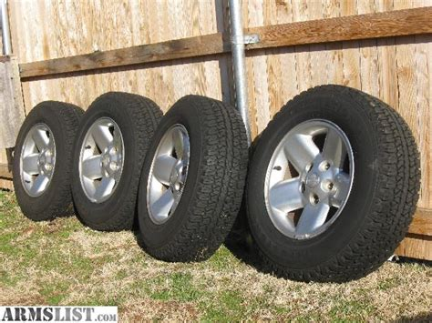 dodge ram tires and rims for sale armslist for sale dodge ram 17 quot rims tires 800