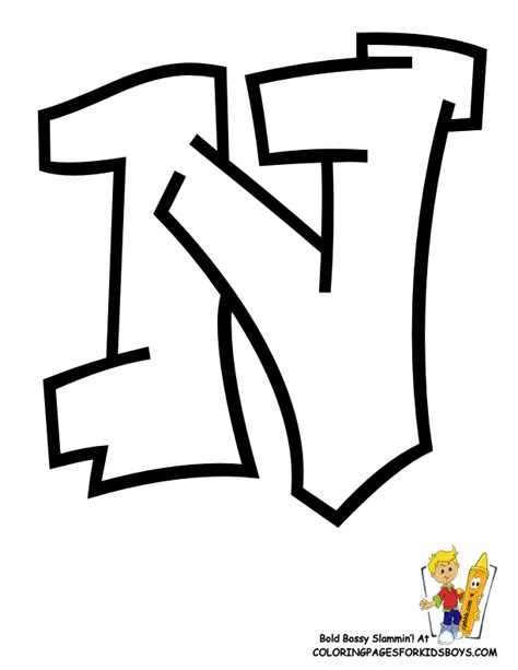 N Drawings Color by Letter N Coloring Pages Coloring Home