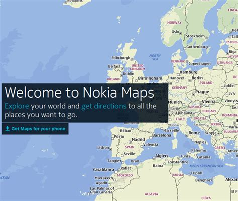 nokia maps nokia maps for iphone and android now available supports offline maps storage redmond pie