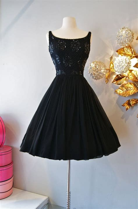 60s dress vintage 1960 s chiffon cocktail dress 60s