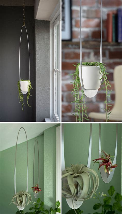home decor hanging ceiling these 11 hanging planters will inspire you to liven up your home decor contemporist