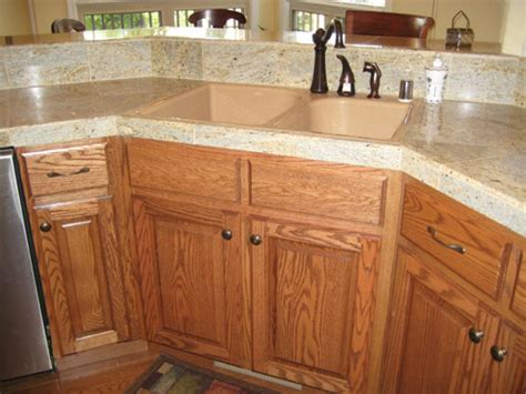stained oak kitchen cabinets ideas