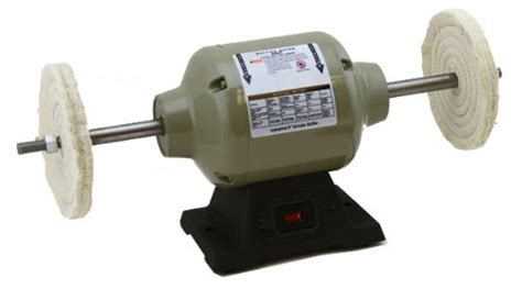 8 bench buffer xtremepowerus 8 inch benchtop buffer polisher grinder