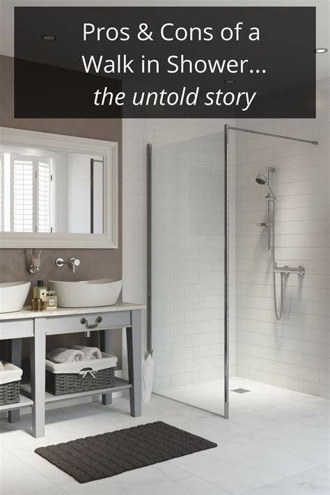 Pros And Cons Of Glass Shower Doors Pros And Cons Of A Walk In Shower Design Cleveland