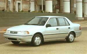 Hyundai Exel 1994 Hyundai Excel Information And Photos Zombiedrive