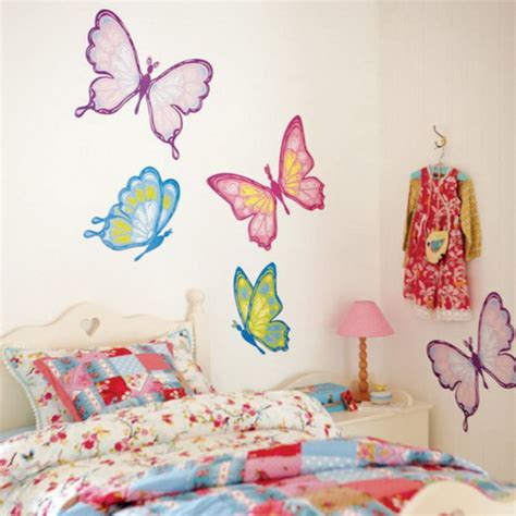 wall butterfly stickers butterfly wall d 233 cor patterns decozilla