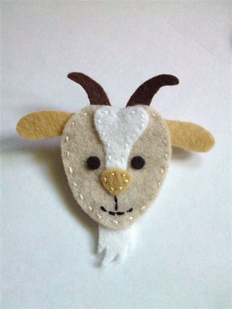felt pattern goat 1000 images about goats on pinterest