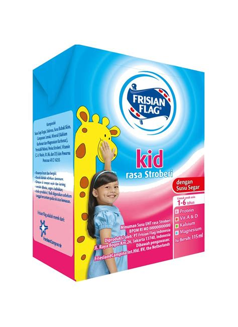 frisian flag cair kid stroberi tpk 115ml klikindomaret