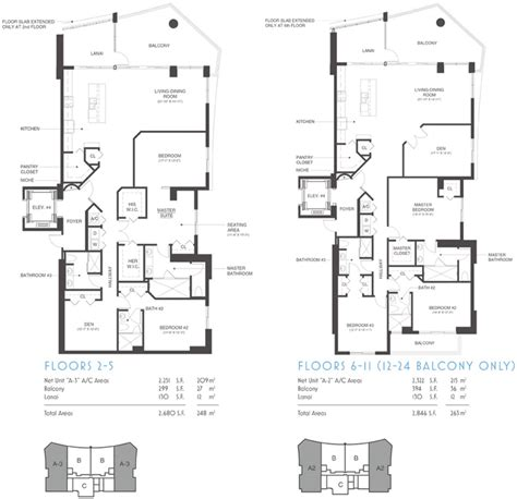 amazing floor plan allure condos fort myers allure fort myers luxury condos