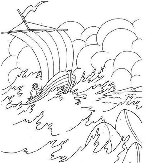 coloring pages jesus in the boat galilee boat coloring pages jesus calms the