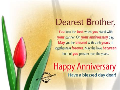 Wedding Anniversary Quotes For Bhaiya And Bhabhi by Anniversary Wishes For Wishes Greetings