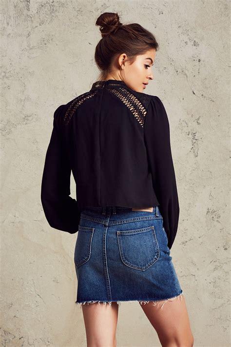 Coco Blouse coco blouse in black tularosa