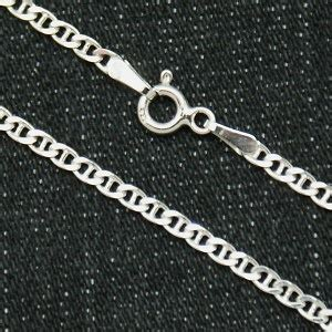 medidas de cadenas de plata para hombres cadena plata y ba 209 o rodio de 45 cms modelo cala