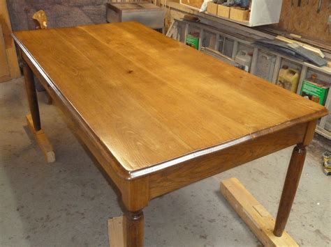 renover une table en bois 4622 comment restaurer une table en bois bricobistro