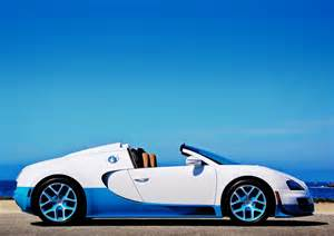 Bugatti Veyron Side View Bugatti Veyron Grand Sport Vitesse Side View Car