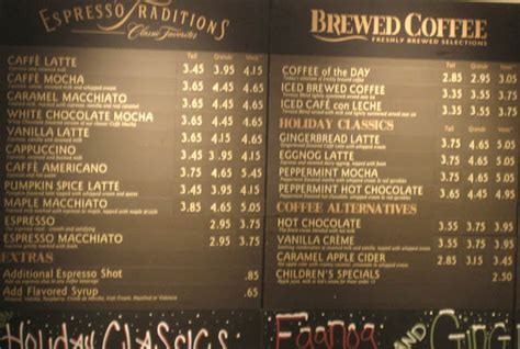 Reliable Index   Image   starbucks coffee prices
