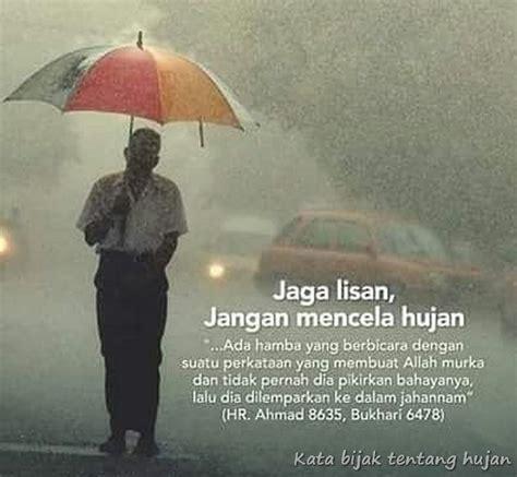 kata bijak tentang hujan islami qwerty
