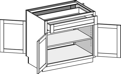 sided base cabinets base cabinets cabinet joint