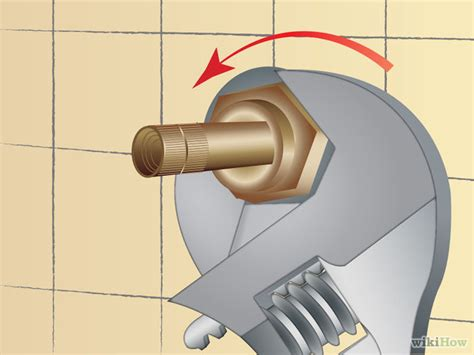 how to stop a leaky bathroom faucet how to fix a leaky shower faucet 11 steps with pictures