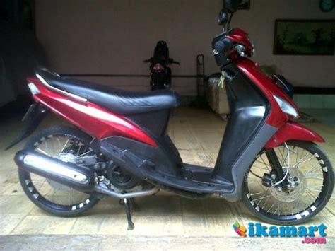 Jual Alarm Motor Bogor jual mio tahun 2007 merah bogor motor
