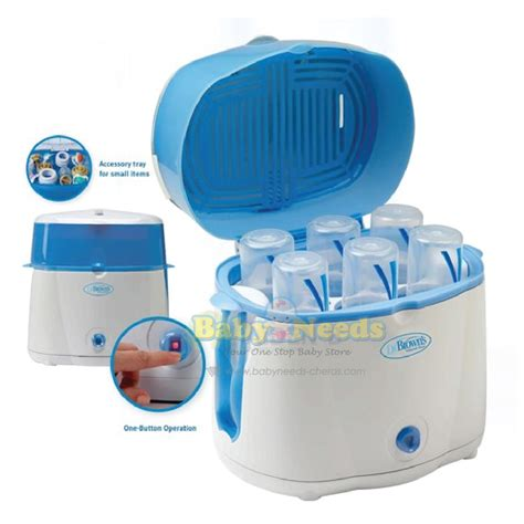 Feeding Set 238 dr brown s deluxe electric bottle steam sterilizer system baby needs store malaysia