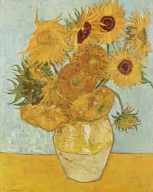Vase Of Irises אגרטל עם חמניות וינסנט ואן גוך שמן על בד 1888
