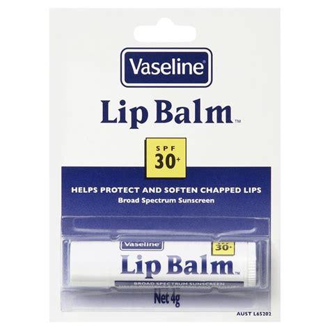 Vaseline Lipbalm vaseline lip balm blister 4g chemist warehouse