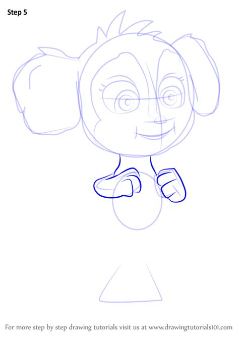 paw patrol mer pup coloring page learn how to draw baby mer pup from paw patrol paw patrol