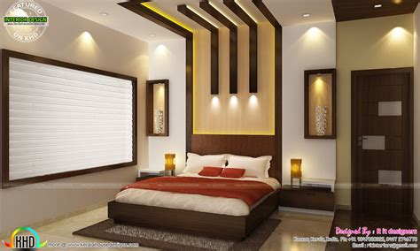 Living Room And Bedroom Design Kitchen Living Bedroom Dining Interior Decor Kerala