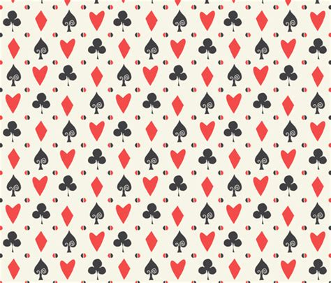 card patterns spoonflower