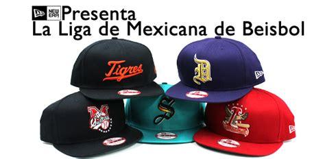 las gorras de la liga de mexicana de beisbol mexican