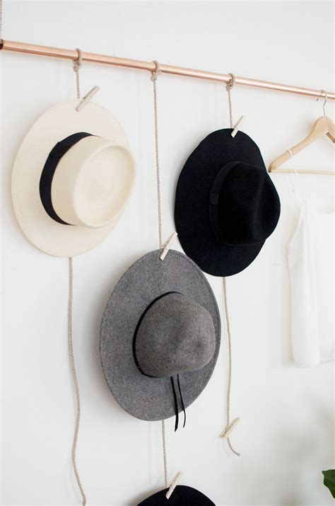 hat hanger ideas 5 diy s i d like to try amber interiors