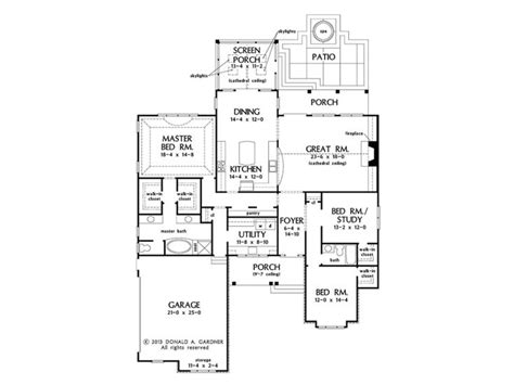 home plans with kitchen in front of house webbkyrkancom it s all about the kitchen with house plan hwepl77127 from