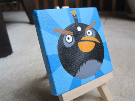 angry birds painting 85 cool angry birds merchandise you can buy hongkiat