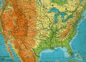 large united states map vintage united states map large us america map