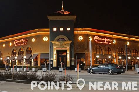 cheesecake factory near me points near me