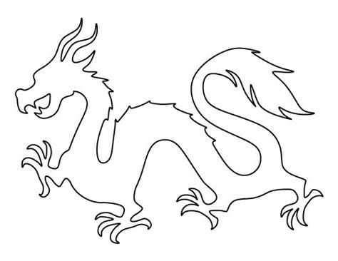printable dragon templates 150 best stencils templates images on pinterest stencil