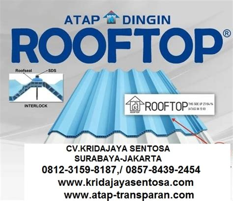 Atap Multiroof Di Banjarmasin supplier distributor atap transparan supplier